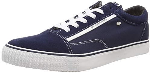British Knights Herren Mack Sneaker, Blau (Navy/White Suede 03), 40 EU