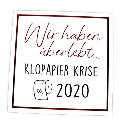 wood and color Magnet für Whiteboard, Kühlschrank, Pinnwand | Kühlschrankmagnet mit Spruch | (Krise 2020)