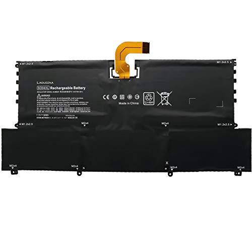Laqueena SO04XL Laptop Replacement Battery for Hp Spectre 13 13-V016TU 13-V015TU 13-V014TU 13-V000 Series SOO4XL S004XL TPN-C127 844199-855 843534-1C1 HSTNN-IB7J HSTNN-1B7J 38WH/4950MAH 4-Cell 7.7V