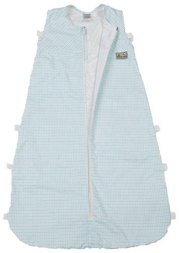 ARO ARTLÄNDER 876900 Gigoteuse d'été en soie 80 cm, mini carrés, turquoise