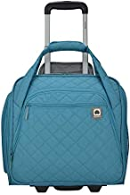 DELSEY Paris Rolling Under Seat Tote Bag, Teal, One Size