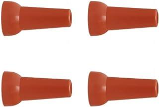 Confezione 4 Raccordi Filetto 1//4 NPT Tubo Componibile Modulare Tuboflex 22503 Arancio