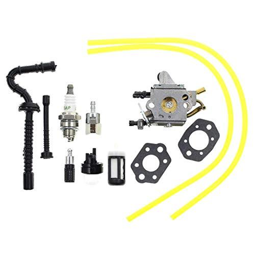 BLTR Conjunto del carburador, C1q-S258 carburador for Stihl MS192 MS192T MS192TC Motosierra Carb Reemplazar Zama Gasolina Soplador de Hojas Cortasetos carburador De Confianza