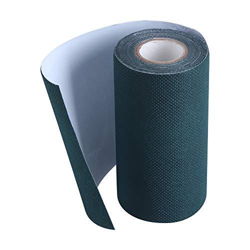 Cinta para Juntas de césped-5mx15cm Césped Artificial Fijación de unión Verde Cinta para césped Costura autoadhesiva para alfombras de césped