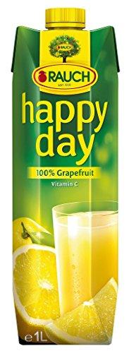 Feliz Día de pomelo 100%, sin adición de azúcar, Tetra - 1L