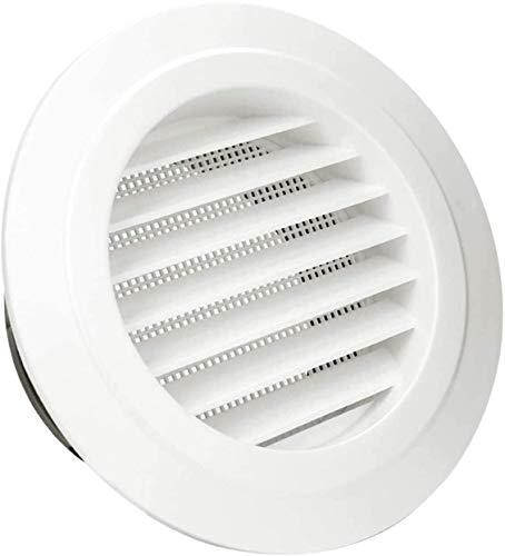 HG Power Rejilla de ventilación redonda ABS Escape Rejilla plástico 150 mm...