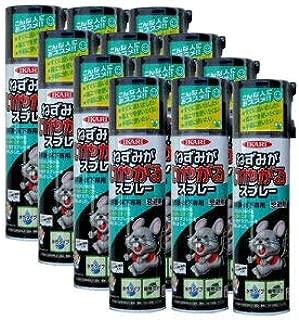 ねずみ忌避剤 ねずみがいやがるスプレー 320ml×12本