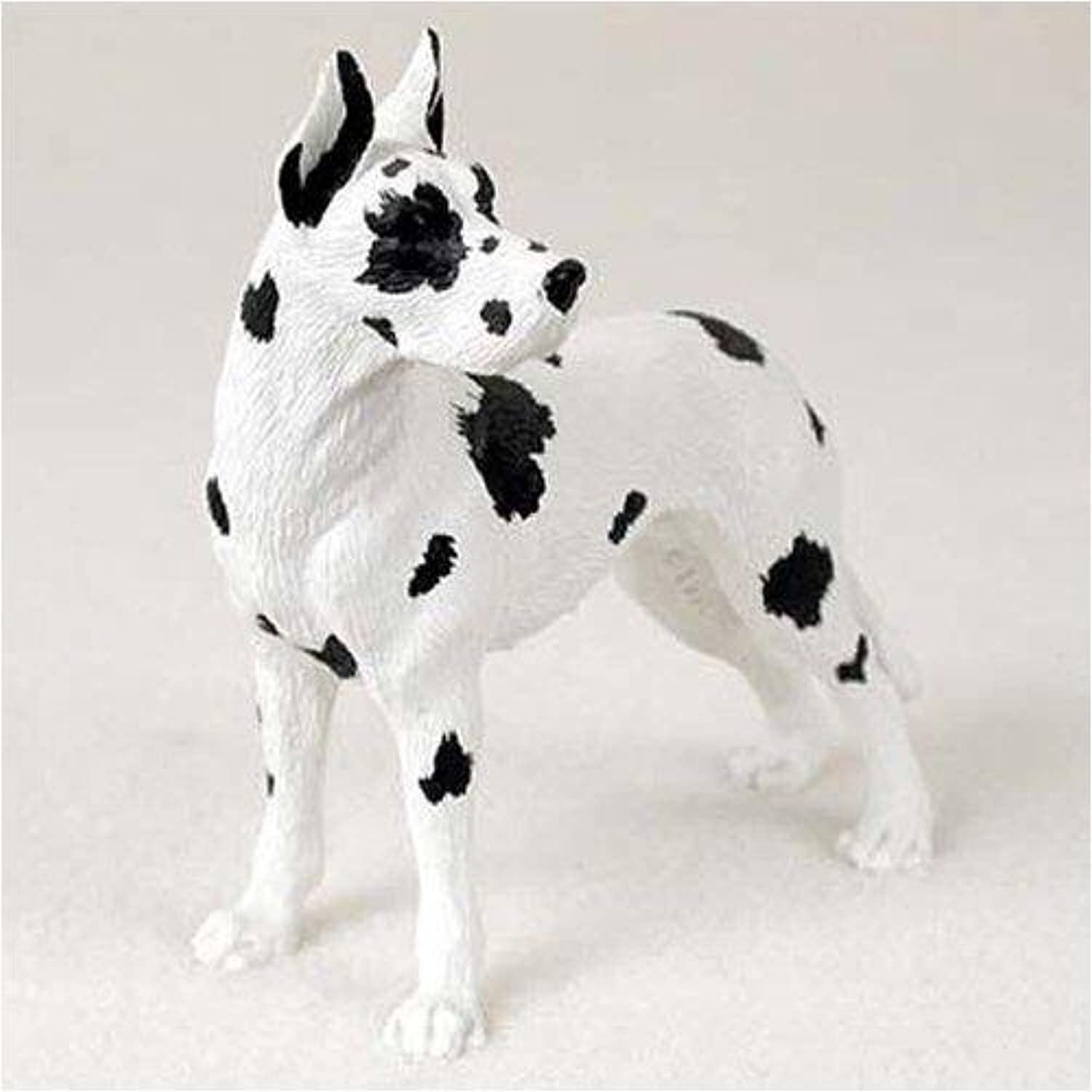 Great Dane, Harlequin Original Dog Figurine (4in5in) by Conversation Concepts