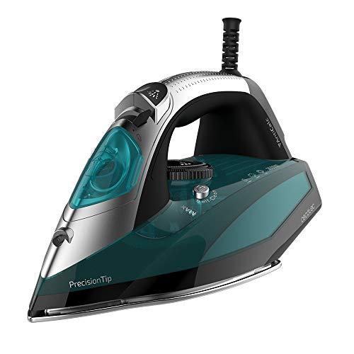 Cecotec Plancha Ropa Vapor Fast&Furious 5010 Vital. 2600 W, Suela de Aluminio Turbo Slide , Vapor continuo de 55 g/min, Golpe de vapor de 200 g/min, Regulador de temperatura, Antical, Antigoteo