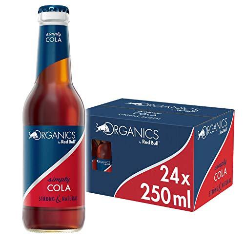 Red Bull Organics Simply Cola 24 x 250 ml Glasflaschen Bio Getränke, 24er Palette