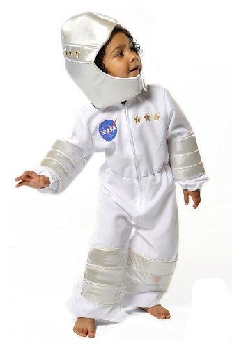 GSC Déguisement d'astronaute Nasa pour enfants Taille 3-5 ans
