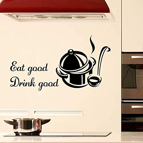 Etiqueta de la pared etiqueta de la pared decorativa papel tapiz decoración del hogar etiqueta restaurante