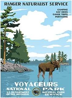 Voyageurs National Park Poster