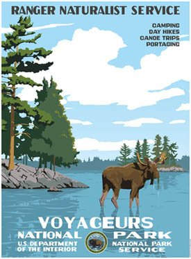 Ford Voyageurs National Park Poster
