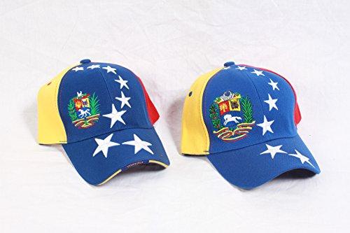 Gorra con los colores de la bandera de Venezuela (oposición).