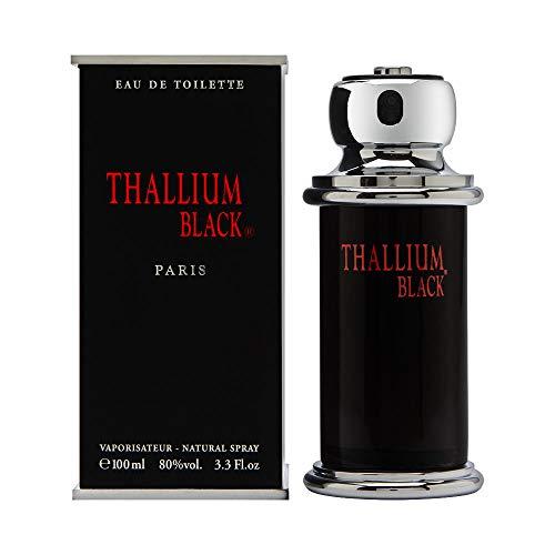 Yves De Sistelle Thallium Black 100ml/3.3oz Eau De Toilette Men Cologne Spray