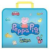 Tomy - T72368 - Valisette Aquadoodle Peppa Pig - Bleu