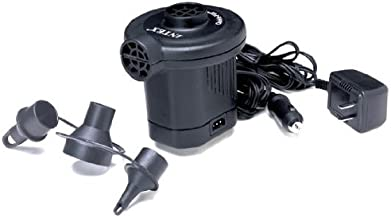 Quick-fill Intex Rechargeable/Electric Mattress 12 Volt Air Pump