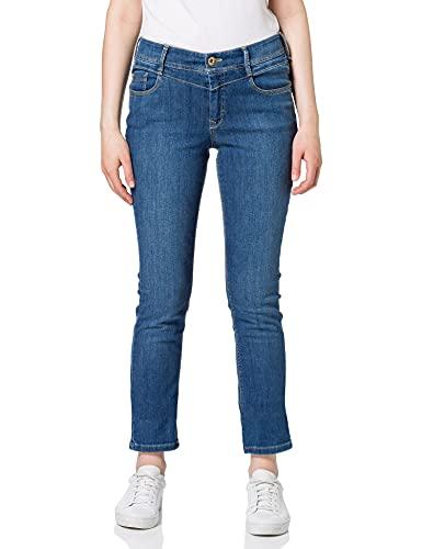 Atelier GARDEUR Damen Zuri WONDERSHAPE Jeans, Blau (Dark Stone 168), W40(Herstellergröße:40K)