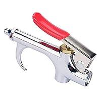 コンプレッサーダスター、合金エアブローガン、コンプレッサーガン、高品質で操作が簡単で、洗浄用途に適しています
