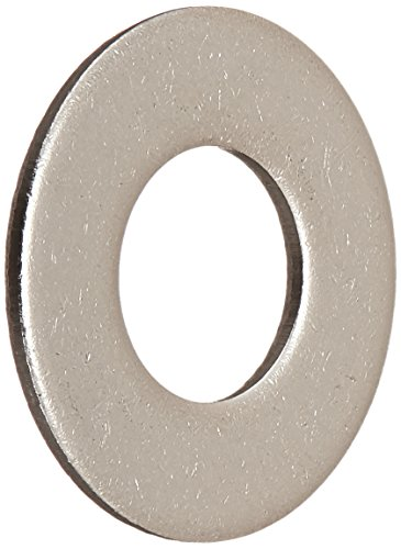 Hillman 830504 Stainless Steel 5/16-Inch Flat Washers, 100-Pack, 1 Pack