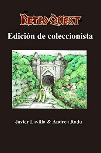 Retro Quest: edición de coleccionista: Librojuego + Atlas + Bestiario: 3