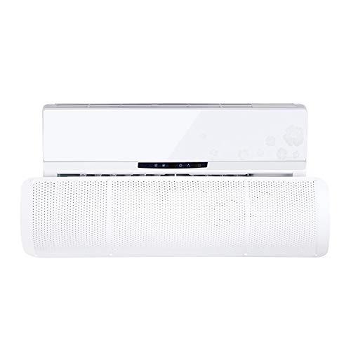 Deflettore condizionatore & Aria condizionata Vento deflettore (Diversione stomatale,White)