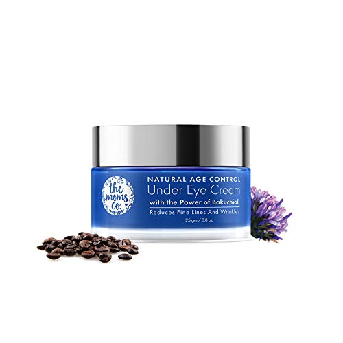 The Moms Co Natural Age Control Under Eye Cream l Reduce Fine Lines, Wrinkles & Dark Circles l Anti Ageing with Natural Retinol and Niacinamide (25 gm