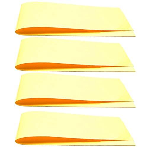 SPARES2GO Lot de 4 bandes absorbantes universelles anti-condensation pour lave-vaisselle 60 cm
