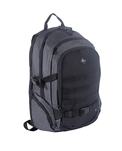 RIP CURL Posse Midnight Rucksack, 47 cm, 30 liters, Schwarz (Midnight)