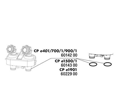 JBL M138504 Cp E4/7/900/1,2 O-Ring Hose Connector Set (2X), 1000 g