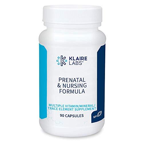 Klaire Labs Prenatal & Nursing Formula - Multivitamin & Multimineral...