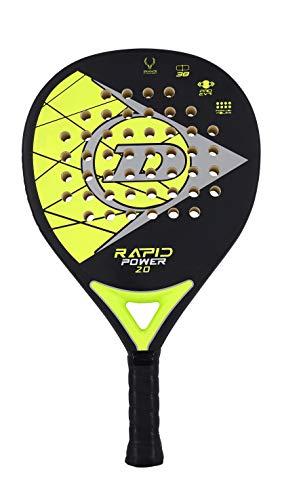 Dunlop Sports Rapid Power 2.0 Padelschläger, gelb/schwarz
