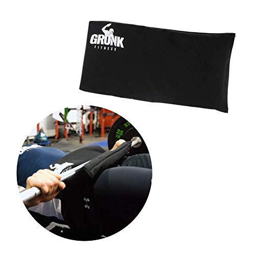 Gronk Fitness Hip Thrust Pad for Barbell   Thick Foam for Extra Comfort