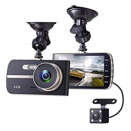 MNBVC CáMara Coche Grabadora, Dashcam Grabadora Ultra HD Dash CAM De Gran áNgulo 170° con G-Sensor,Modo De Estacionamiento,DeteccióN De Movimiento,GrabacióN De Bucle,con WiFi Y GPS