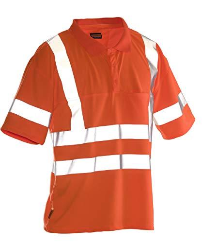 Jobman Practical Polo Shirt Hi-Vis - Warnschutz Shirt
