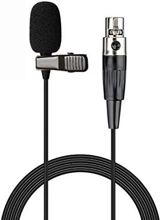 Sujeetec Professional Lavalier Lapel Microphone 3 Pin Mini XLR TA3F Clip on Condenser Mic for product image