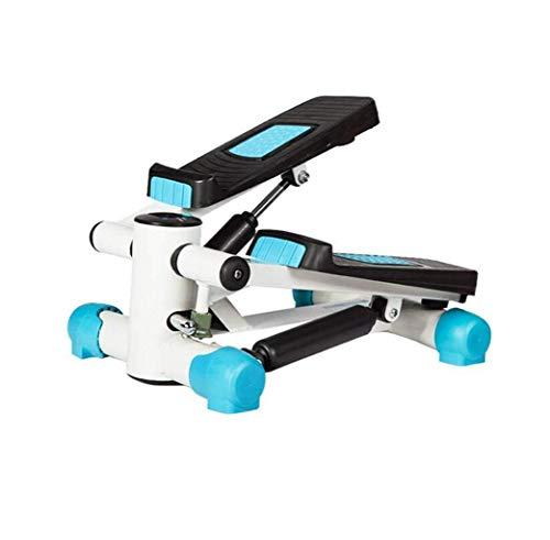 DGHJK Multifunción Stepper Mini Mute Home Blue Stepper Deportes y Equipamiento Pequeño Paso a Paso hidráulico Máquina de Cintura Delgada portátil tamaño 43 * 32 * 23cm (Color: Azul)
