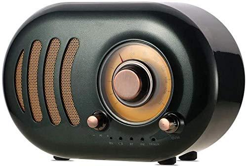 Altavoz Bluetooth portátil Altavoces Bluetooth 6 horas de reproducción estéreo fuerte al aire libre Bluetooth altavoz adecuado para reuniones familiares y viajes al aire libre verde oscuro