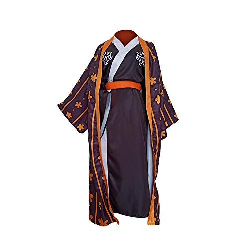 Crystally Trafalgar D Water Law Cosplay Disfraz Kimono Trajes para Halloween, Cosplay Anime