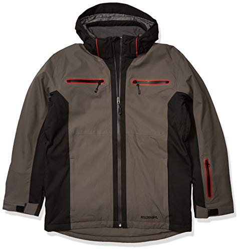 Boulder Gear Men's Powers Tech Jacket, X-Large, Gray Shadow/Black