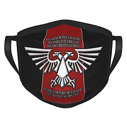 ZVEZVI Warhammer Eagle Imperial Máscaras de Moda Unisex,pasamontañas Que se Pueden Usar en casa y al Aire Libre