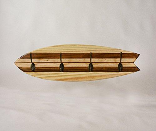 PERCHERO TABLA SURF RETRO, DECORACIÓN SURFERA, SURFHOUSE, SURFCAMP