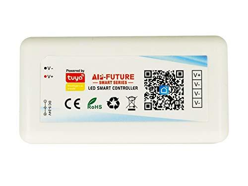 LEDLUX Mini Steuergerät Tuya Smart Controller WLAN LED Dimmer kompatibel mit Alexa Google Home 5 Modelle erhältlich (1 Kanal)