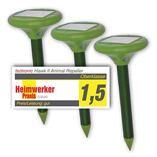 ISOTRONIC® Solar Ahuyentador de topos, Efectivas...