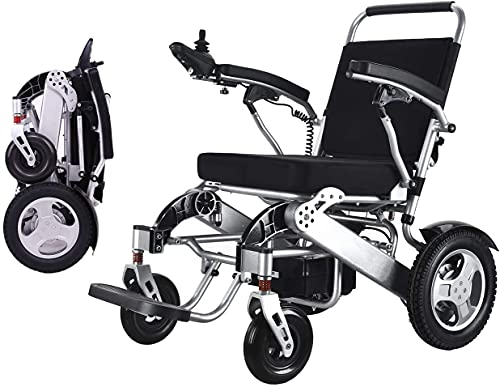 Folding Electric Powered Wheelchair by WISGING