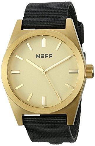 Neff nf0223-gldbk-os–Armbanduhr Farbe Schwarz