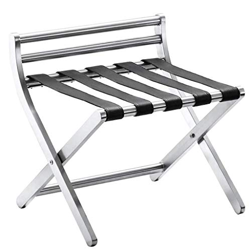Lowest Price! LXF Folding Luggage Rack Stainless Steel European Hotel Folding Luggage Rack Rack Simp...