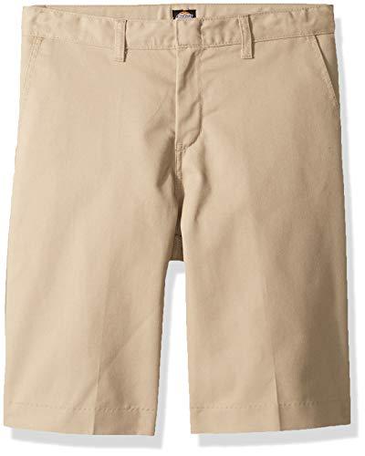 Dickies Boy's Big Flexwaist Flat Front Short, Desert Sand, 16