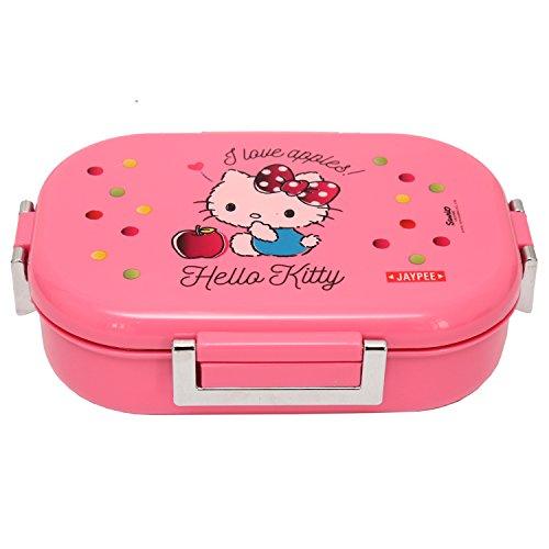 Jaypee Lunch Box Missteel Hello Kitty Pink 650 ml